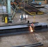 shipbuilding för reparationsship Royaltyfri Fotografi