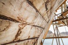 Shipbuilding Oman Royalty Free Stock Photo