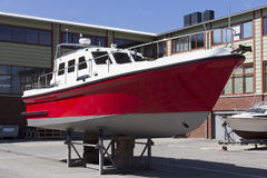Shipbuilding, ship-repair Royalty Free Stock Photo