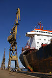 Shipbuilding, ship-repair Stock Photo