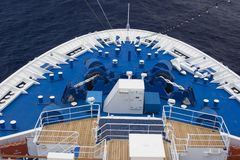 Shipdeck Royalty Free Stock Photography