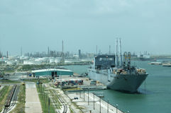 shipgård arkivbild