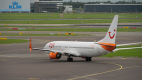 Shiphol airport traffic stock video footage