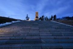 Shipka monument Arkivbild