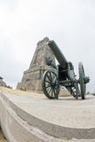 Shipka. Russian cannon. Monument Royalty Free Stock Photos