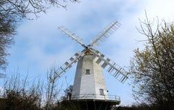 SHIPLEY, SUSSEX/UK OCIDENTAL - 16 DE MARÇO: ` S MI do moinho ou do Vincent do ` s do rei Imagem de Stock