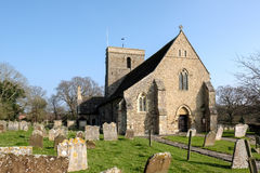 SHIPLEY, WEST SUSSEX/UK - MARCH 16 : View of Church of St. Mary Stock Images