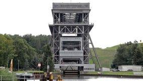 Shiplift Eberswalde Finow - Germany stock footage