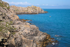 Shipman Head, Bryher. Royalty Free Stock Images