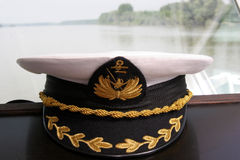 shipmaster крышки Стоковое фото RF