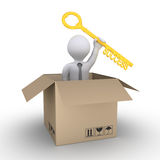 Shipment of the business solution Royalty Free Stock Photography