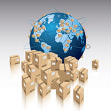 Shipment concept Stock Photo