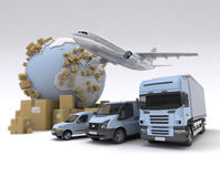 Shipment Stock Image
