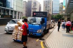 Shipment of goods Royalty Free Stock Photos