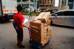 Shipment of goods Royalty Free Stock Photo