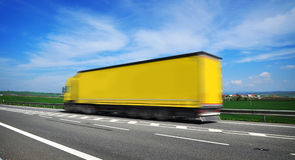 Shipment truck stock photos