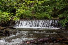 Shipot vattenfall royaltyfria bilder