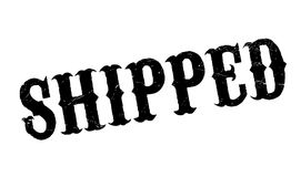 Shipped rubber stamp Stock Photos