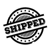 Shipped rubber stamp Stock Photography