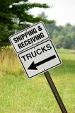 Shipping And Receiving Royalty Free Stock Photos