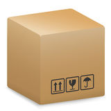 Shipping box Stock Photos