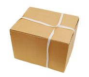 Shipping box Royalty Free Stock Image
