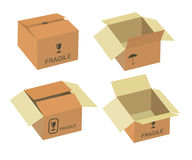 Shipping box  Stock Photography