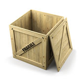 Shipping box Royalty Free Stock Photo