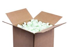 Shipping Box 3 Royalty Free Stock Images