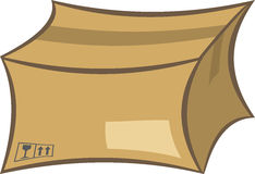 Shipping box royalty free illustration