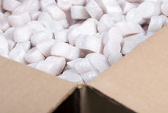 Shipping box stock images