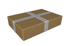 Shipping box package Stock Photo