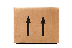 Shipping box Royalty Free Stock Photography