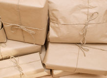 Shipping boxes Royalty Free Stock Image