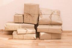 Shipping boxes Stock Photos