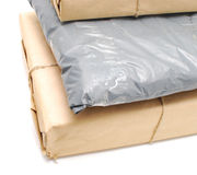 Shipping boxes Stock Image
