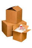 Shipping Boxes Royalty Free Stock Images