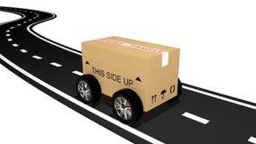 Shipping cardboard Royalty Free Stock Image