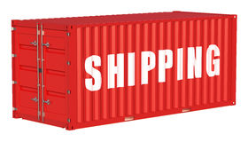 Shipping cargo container concept Royalty Free Stock Image