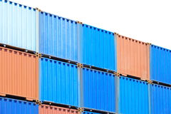 Shipping cargo container Royalty Free Stock Photo