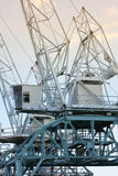 Shipping or cargo crane Stock Images