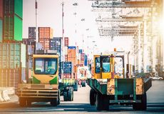 Shipping Cargo Hub Royalty Free Stock Images