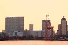 Shipping Cargo in tokyo Stock Image