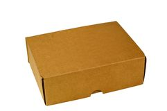 Shipping Carton. Container used for shipping products Stock Photography