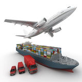 Shipping company Stock Images