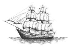 Shipping company logo. Stock Photos