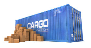 Shipping concepts Stock Photo