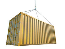 Shipping Container royalty free illustration