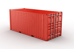 Shipping container Royalty Free Stock Image
