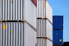 Shipping Container Royalty Free Stock Images